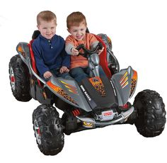 Fisher Price Power Wheels Dune Racer – Lava Red & Black | Toys Heaven