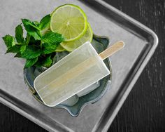 Mojito Popsicles | 33 Super Cool Popsicles To Make This Summer
