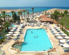 Full list of Hotels in Cyprus. Detail hotel information and best rates available for Cyprus . Places Around The World, Around The Worlds, Nissi Beach, Cyprus Hotels, Ayia Napa, Limassol, Beach Hotels, 4 Star Hotels