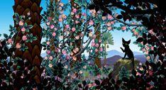 Azur & Asmar (2006) - Le chat noir