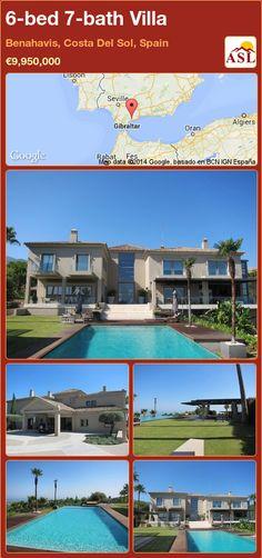6-bed 7-bath Villa in Benahavis, Costa Del Sol, Spain ►€9,950,000 #PropertyForSaleInSpain