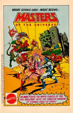 Les Sketcheurs Cosmiques: Masters of the Universe - Where Science Ends... Magic begins!
