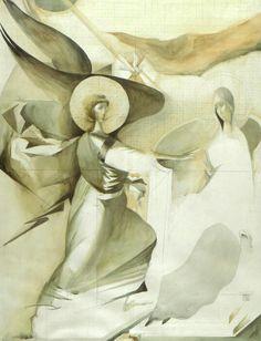 Annunciation 5   Acad.Sorin Dumitrescu