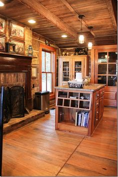 Guntersville, Alabama Vacation Home for rent- GORGEOUS kitchen.  Perfect private mountain retreat.