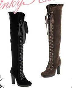 Luv these boots! I'll take one in each color please : )