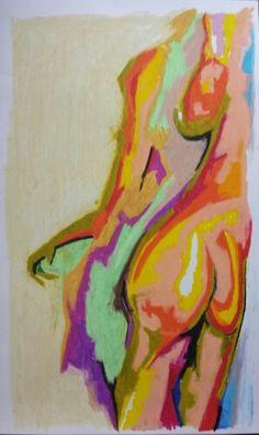 "Jeff Lee Thomson.  Oil pastel on paper.  16""x 24"" .  Www.facebook.com/jeffleethomson"