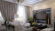 "Интерьер 3-хкомнатной квартиры в ЖК ""ParkAvenue"" (Киев): интерьер, зd визуализация, квартира, дом, гостиная, неоклассика, 30 - 50 м2, интерьер #interiordesign #3dvisualization #apartment #house #livingroom #lounge #drawingroom #parlor #salon #keepingroom #sittingroom #receptionroom #parlour #neoclassicism #30_50m2 #interior arXip.com"