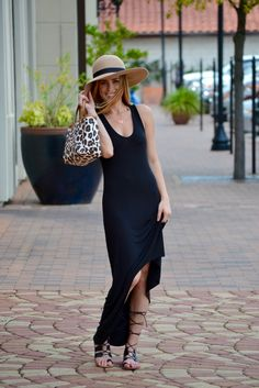 High/Low Maxi Dress • Uptown With Elly Brown