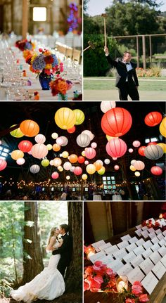 Colorful and earthy. Perfectly fun and romantic.