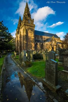 St. Machar Cathedral with Autumn Light, Aberdeen