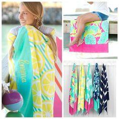 068e2d1365 Personalized Beach Towel, Monogram Beach Towel, Beach Towel, Monogram Pool  Towel, Custom Beach Towel, Kids Beach Towel, Flamingo Towel