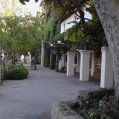shopping on State St., Santa Barbara