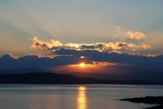 Loch Ewe Sunrise over Sutherland Hills:   This sunrise is taken near the wee village of Cove, situated on the shore of Loch Ewe in Wester Ross, looking east towards the Sutherland hills.