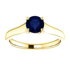 Catherine Trellis Solitaire in 14k With by GraceWaltersDesigns, $1920.00