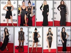 Black - AMA 2015 - American Music Awards 2015 - Red Carpet - nick na europa