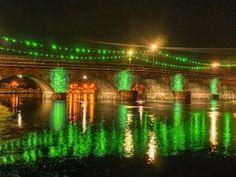 Leitrim bridges go green #Ireland