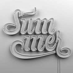 Summer by Muokkaa, via Behance