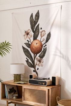 Jessica Roux For Deny Clementine Tapestry | Urban Outfitters #wallhanging #clementine #affiliate