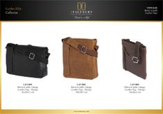 #Borse in #pelle #vintage / #Leather #bags - #Vintage by ITALUXURY | #Luxury Leather Goods & Accessories - Made in Italy. Website: www.italuxury.com