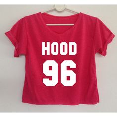 Hood 96 Crop Shirt Calum Hood Tshirt Women 5 Sos ($13) ❤ liked on Polyvore featuring tops, shirts, crop tops, pink, women's clothing, red crop top, red checkered shirt, hooded shirt, crop shirt and holiday tops