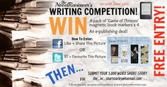 Short-Story Writing Competition June 2013 - TheNovelReviewer | Bringing you the latest in book reviews, literary news, short-stories & more!