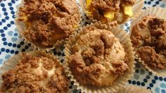 Cinnamon crumb cakes (Paleo, AIP).  Very dense. Personally prefer airier muffins, but great AIP treat.  I used 1 1/3 cups of Let's Do Organic Creamed Coconut.  Make sure to let sit until totally cool before eating.
