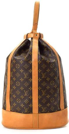 Louis Vuitton - Vintage Luxury Women s Randonnee Bucket Bag Louis Vuitton  Bucket Bag 2526b003913c9