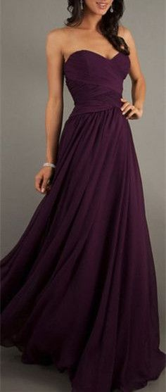 prom dress,Sexy purple evening prom dress