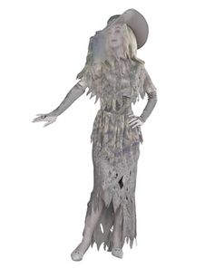 Ghostly Gal Adult Costume | Womens Gothic/Vampire Halloween Costumes