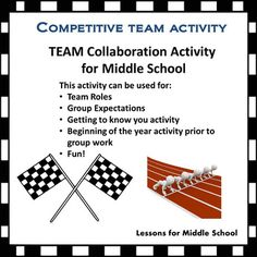 This activity can be used in any subject area classroom.  I use it to teach and re-teach classroom group expectations, but it can be used for a variety of purposes.  It could be used prior to a group project to establish peer relationships, an activity to teach group roles and accountability and/or as a getting to know you activity at the beginning of the year.