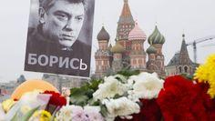 Die Gedenkstätte am Ort Nemzows Ermordung unweit des Kremls.
