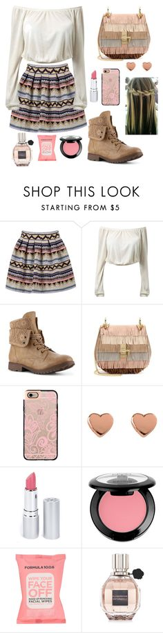"""Alice"" by shreya16 ❤ liked on Polyvore featuring Chloé, Casetify, Ted Baker, HoneyBee Gardens, NYX, Formula 10.0.6 and Viktor & Rolf"