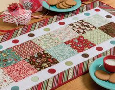Holiday Delight table runner (from Celebrate Christmas - Martingale)