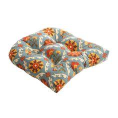 Mayan Medallion Outdoor Chair Cushion