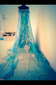 Queen Elsa's dress!!!