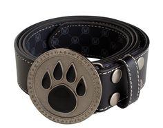 J!NX : World of Warcraft Paw Icon Leather Belt