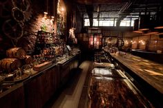 Steampunk interiors | design architecture Interior Design steampunk industrial bar buenos ...
