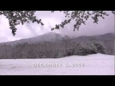 First Snowfall in Cades Cove, Great Smoky Mountains