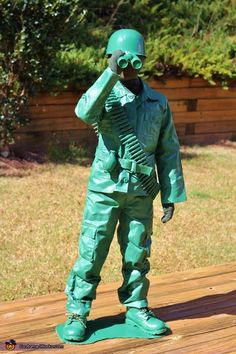 Toy Army Man - 2015 Halloween Costume Contest