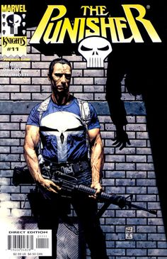 The Punisher #11, February 2001, cover by Tim Bradstreet