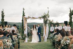 Casamento Boho-Rústico Inspirador | Lápis de Noiva