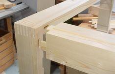 Making the 7-drawer dresser frame