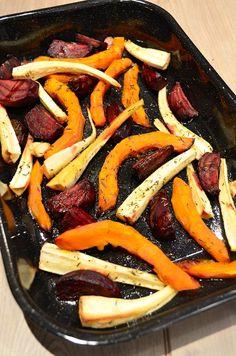 Geroosterde groente uit de oven | Roasted Veggies