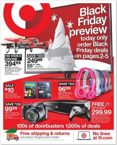 The Target Black Friday ad for 2015 is out — view all 40 pages | fox13now.com