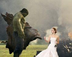 Jennifer Lawrence Flips Off The Hulk