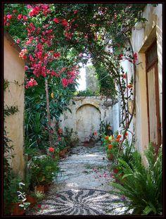Griekse tuin