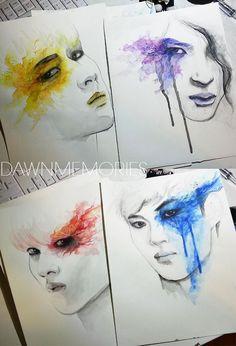 Vixx Watercolor