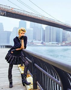 Stella Maxwell by Arthur Elgort for Marie Claire France September 2013