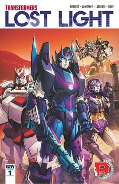 NEW SERIE !!! The Transformers – Lost Light n°1 (14.12.2016) // Five years ago, Rodimus and a collection of traumatised, lovelorn and/or sarcastic Autobots set off on a quest to find Cyberutopia. So far, they've made a right hash of it. They've misplaced their map. They've lost their ship, the Lost Light, to a mutinous escapologist. Oh, and they're dead.  #transformers #lost #light #idw #publishing