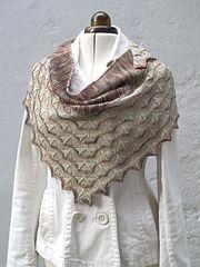 Ravelry: Martinmas Shawl pattern by Sarah Burghardt Abram - free